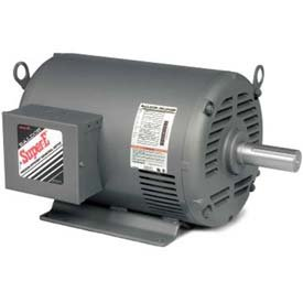 (Baldor-Reliance HVAC Motor, EHM3313T-8, 3 PH, 10 HP, 200 V, 1770 RPM, OPSB, 215T)