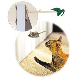 Play-N-Squeak Batting Practice Cat Toy, My Pet Supplies