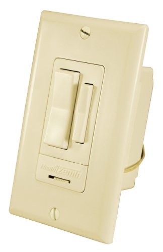 UPC 016963601772, Heath Zenith WC-6017-IV Wireless Command RF Wired Wall Switch Receiver, Ivory