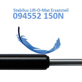 Ersatz f/ür Stabilus Lift-O-Mat 094552 0150N