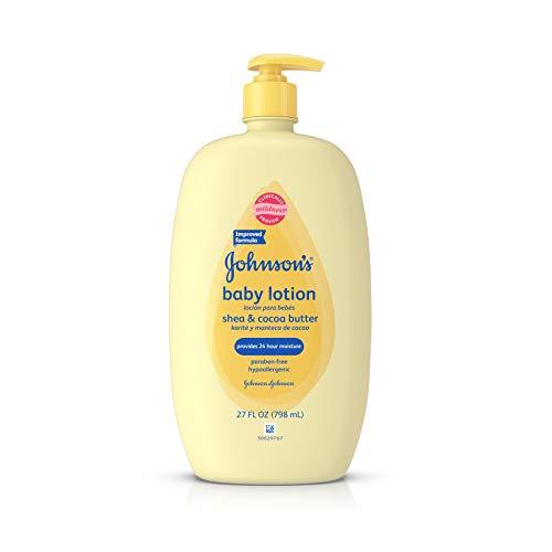 Johnson's Baby Shea & Cocoa Butter Lotion For Sensitive Skin, 27 Fl. Oz.