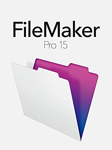 FileMaker Pro 15 Retail Full Version for Windows and Mac 31oYO8B3oyL