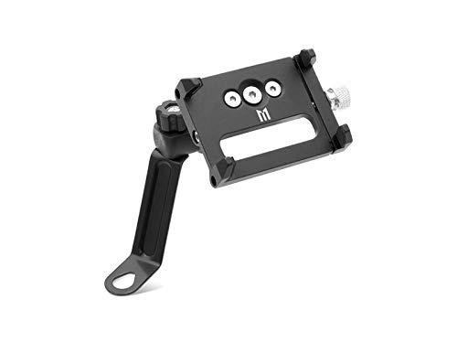 (Motorcycle Phone Holder Kit - Handlebar & Mirror Mount - Billet Aluminium)