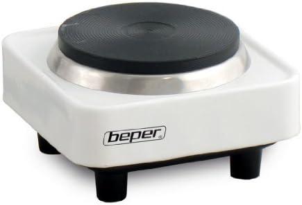 Beper - - placa eléctrica 1 fuego - 300 vatios - 8 cm: Amazon.es