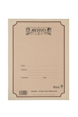 Archives Standard Bound Manuscript Paper Book, 10 Stave, 48 Pages ()