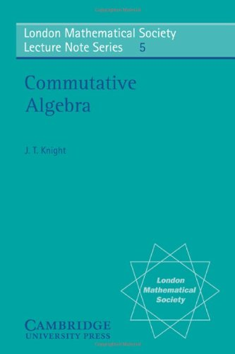 Commutative Algebra (London Mathematical Society Lecture Note Series)