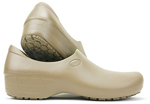 Waterproof Non-Slip Shoes (7, Beige) - Dark Beige Footwear