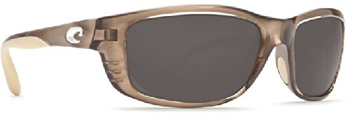 Costa Del Mar Sunglasses - Zane- Plastic / Frame: Crystal Bronze Lens: Polarized Gray 580P - Costa Sunglasses Zane