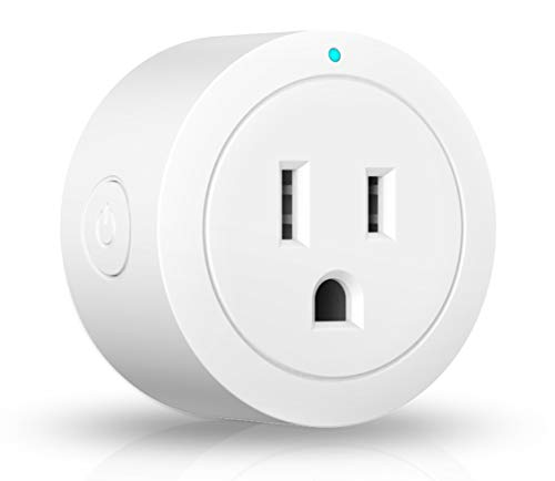 Smart plug, Amysen Compatible with Alexa and Google Home, Socket 4 Pack, Smart Wi-Fi Plug, Smart Outlet No Hub Required, Control Your Devices from Anywhere