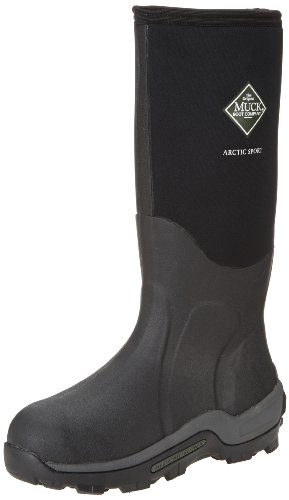 - Muck Arctic Sport Rubber High Performance Men's Winter Boots, Black, 6M US