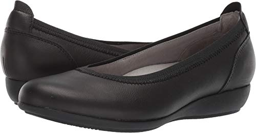 - Dansko Women's Kristen Shoe, Black Milled Full Grain, 39 M EU (8.5-9 US)