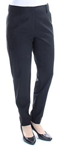 Dkny Black Wool Blend - DKNY $298 Womens New 1024 Black Skinny Wear to Work Pants 6 B+B