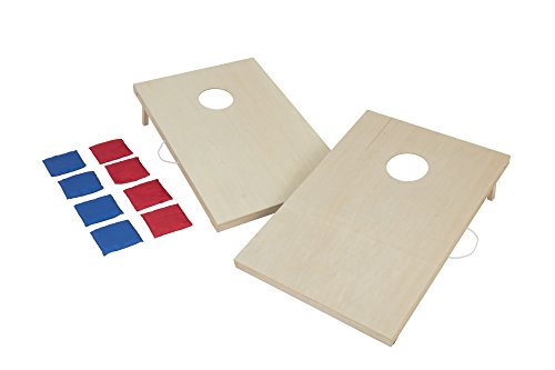Triumph Woodie 2' x 3' Tournament Cornhole Bag Toss Set Includes 8 All-Weather Bean Bags by Triumph Sports