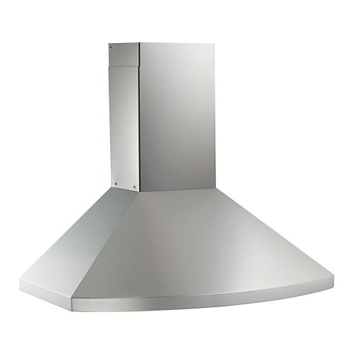 KOBE Range Hoods RA9230SQB-1 Wall Mount Range 750 CFM Stainless Steel with LED Lights, 30-Inch