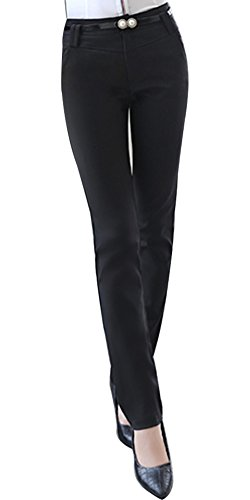Ma Pantaloni Il Xl Bozevon Lavoro Da Formale In E Adatti Per Elastico Donna Stile Con L'ufficio Vita Casual wXZdrTZqx