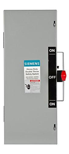 Siemens DTNF221 30-Amp 2 Pole 240-volt 2W Non-Fused Doubl...