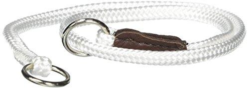 Mendota Show Slip Collar, White, 20