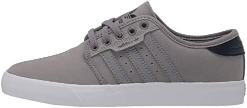 31oYeBwaSgL. AC adidas Originals Men's Seeley Sneaker    Designed so they're ready-to-ride with no wear-in time, these shoes draw on adidas heritage and reimagine it specifically for skateboarding. An abrasion-resistant synthetic suede upper holds up to daily park sessions, while a textile lining keeps your feet comfortable on or off the board. Classic 3-Stripes and a linear Trefoil logo give these shoes low-key adidas style.