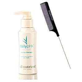All-Nutrient Daily pHX Routine Therapy, Leave In Protein Conditioner Hair Treatment (w/ Sleek Comb) DailypHx, UV+ Color…