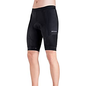 Men's Bike Shorts - Light, Breathable, Padded Stretch Cycling Pants - By Dinamik