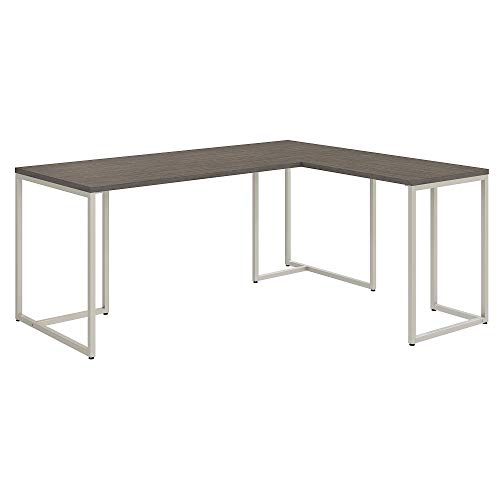 Office by kathy ireland Method 72W L Shaped Desk with 30W Return in Cocoa