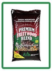 Green Mountain Premium Fruitwood Blend Pellets