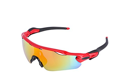 FEISEDY Polarized Sports Sunglasses REVO Changeable Lenses TR90 Frame Cycling B2280 – DiZiSports Store