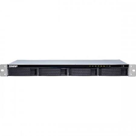 Qnap TS-431XeU-8G-US 4-bay 1U Short-Depth Rackmount NAS (8GB RAM version) with Built-in 10GbE Network by QNAP