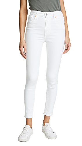 Levi's Women's Mile High Ankle Super Skinny Jeans, Western White, 31