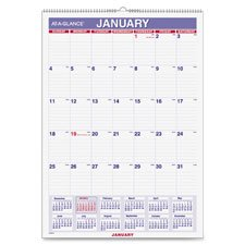 Write-On Wall Calendar, 12 Mths Jan-Dec,12