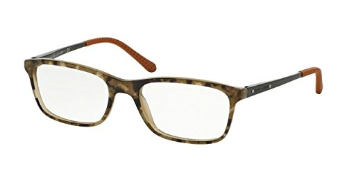 Ralph Lauren RL6134 Eyeglass Frames 5427-53 - Top Camuflage On Olive RL6134-5427-53