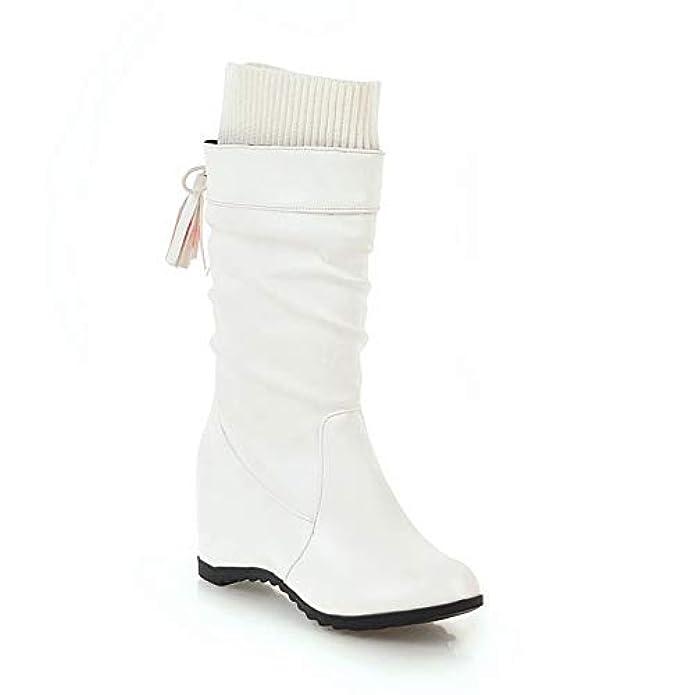 An Dku02068 Sandali Con Zeppa Donna Bianco bianco 38 Eu