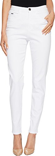FDJ French Dressing Jeans Women's Sunset Hues Suzanne Slim Leg In White White 14 30