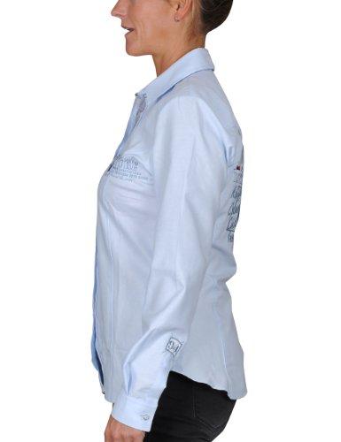 iQ-Company Hemd Dive Club Shirt Grand Bleu - Camisa azul - azul