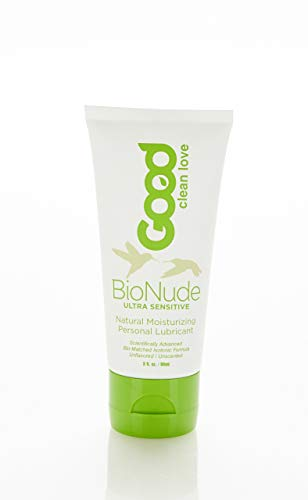Good Clean Love : BioNude Ultra Sensitive Personal Lubricant, 3 Ounce -