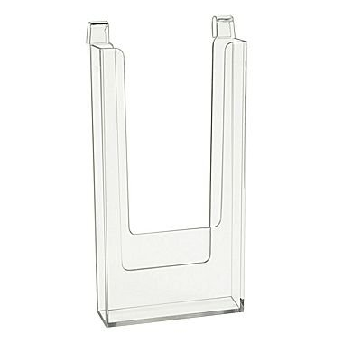 Styrene Gridwall Literature Holder 4½