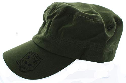 Metal Gear Solid Foxhound Military Cap Green