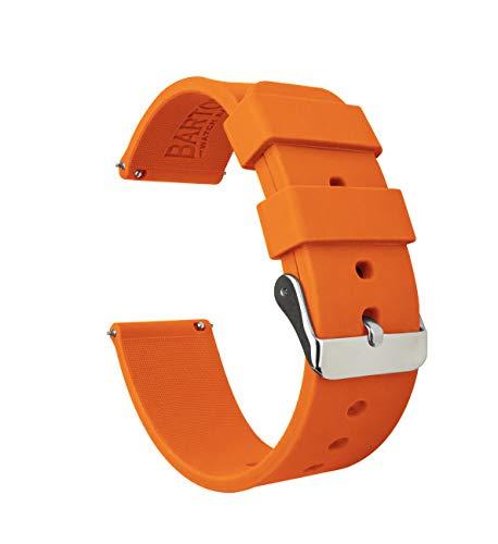 Orange Leather Strap - 3