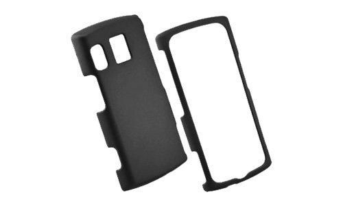 Sanyo Hard Faceplates - Wireless One Hard Case for Kyocera M6000 Zio Rubberized - Face Plate - Bulk Packaging - Black
