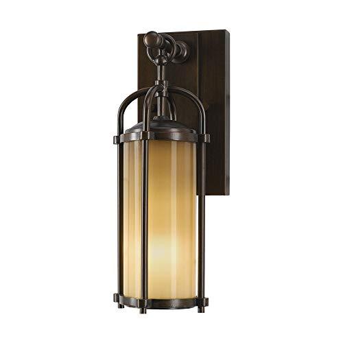 Murray Feiss OL7600HTBZ 1 Light Wall Lantern, Heritage -