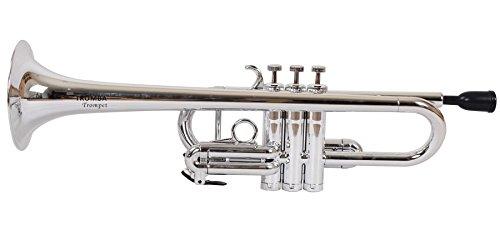 Tromba Pro Professional Plastic C Trumpet-silver