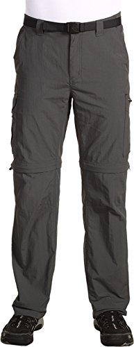 Shorts Belted Columbia (Columbia Silver Ridge Convertible Pant, 38x34, Grill)