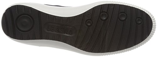 Legero Damen Tanaro Low-Top Sneaker, 200818 Blau (Oceano)