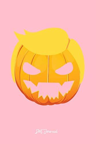 Dot Journal: Dot Grid Journal - Pumpkin