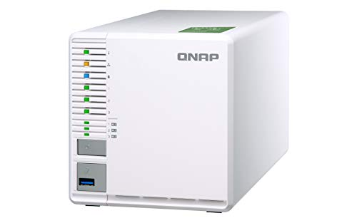 QNAP TS-332X 3-Bay 64-bit NAS with Built-in 10G Network. Quad Core 1.7GHz, 2GB RAM, 1 X 10GbE (SFP+), 2 X 1GbE, 3 X 3.5/2.5'' Drive Slots, 3 X M.2 SATA 2280 Slots, RAID 0/1/5 by QNAP (Image #5)