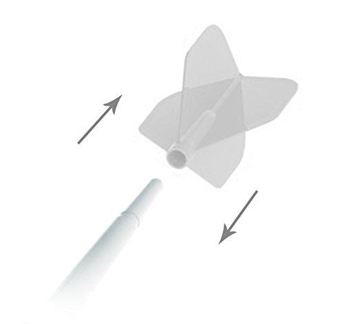 3 STK Cosmo 48 mm Schaftset Fit mittel Spinning gelb