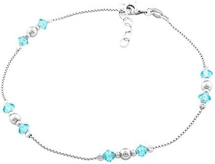 "Details about  /.925 Sterling Silver 2 MM Bead Anklet Bracelet with 1/"" Extender 9 MSRP $66"