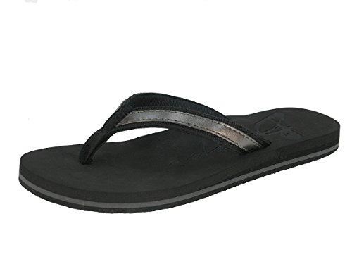 Beppi señoras de las chancletas de zapatillas zapatillas zapatillas de verano Negro