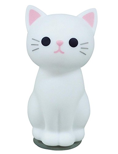 Cat Toothbrush Holder - Meiho Cat Tooth Brush Stand White (japan import)