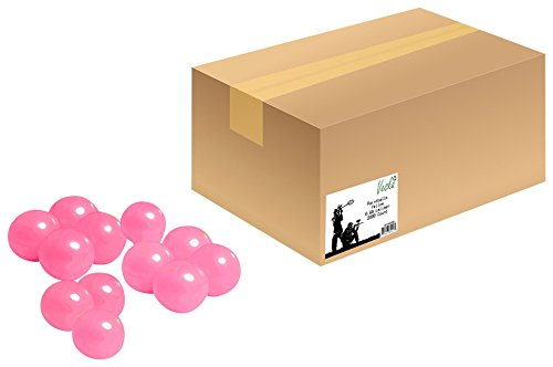 Veska High Grade Paintballs, .68 Caliber, Pink, 500 Count